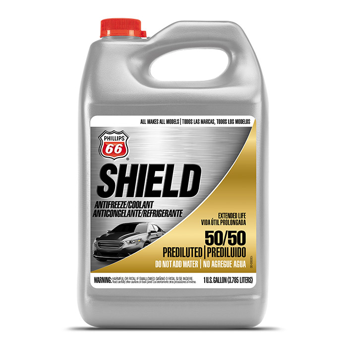 Shield Antifreeze/Coolant 50/50 Pre-Diluted, Concentrate