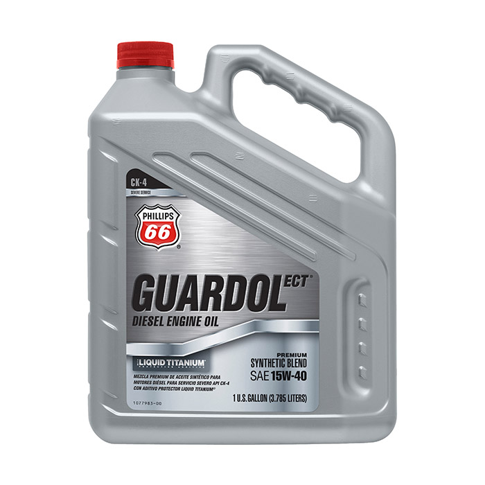 Guardol ECT Diesel Engine Oil With Liquid Titanium SAE 10W-30, & 15W-40, API Service CK-4, CJ-4