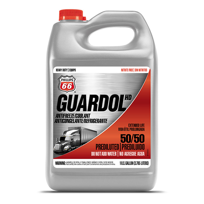 Guardol HD OAT Antifreeze / Coolant 50/50 Pre-Diluted, Concentrate